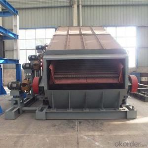 Double frequency screen/vibrating screen for mining