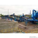 Construction waste disposal system of 100-800T/H