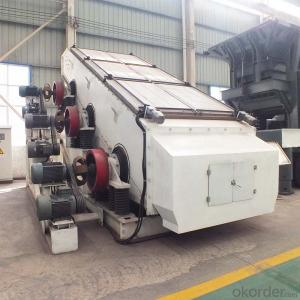 High amplitude vibrating screen machine for mining