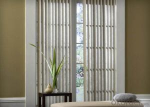 motorized blackout vertical blinds for office and livingroom