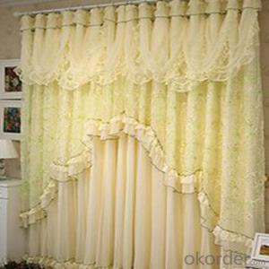 classical woven tulle living room partition curtain