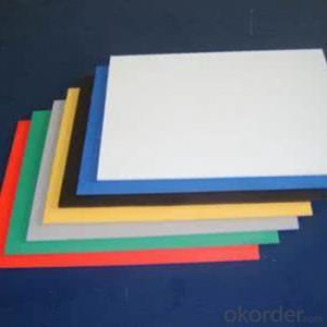 PVC Foam Board(sheet)  Heat Insulation High Density