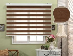 indoor day night zebra roller blind curtain