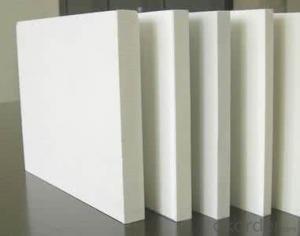 New material waterproof 17mm high density wpc pvc foam board /concrete foam board