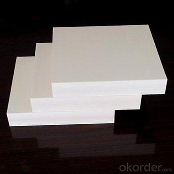 10mm white PVC foam sheet with good quality