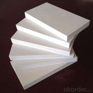 white building material high quality pvc foam sheet for cabinet
