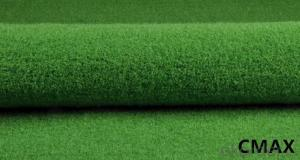 Artificial charged particles grass