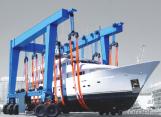 MGK Model 5t-1200t Boat Handling Crane,Lifting Equipment,Crane