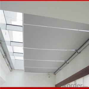 office sunscreen / blackout manual roller blinds curtains