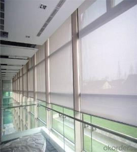 manual fabric blind waterproof curtain for window