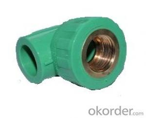New PPR Elbow Fittings of Industrial Application from China Factory
