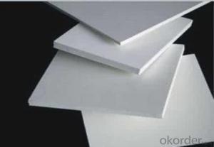 plastic pvc foam board for concrete formwork