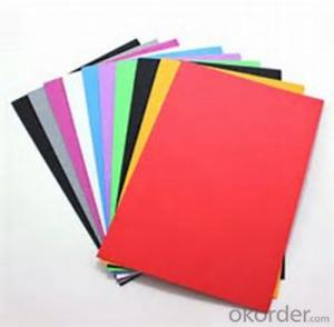 Sintra PVC  foam board from China  1-25mm