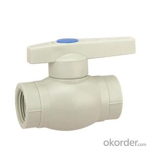 *New PPR Pipe Ftting For Hot And Cold Water Welded Ball  Valve High Class Quality Standard