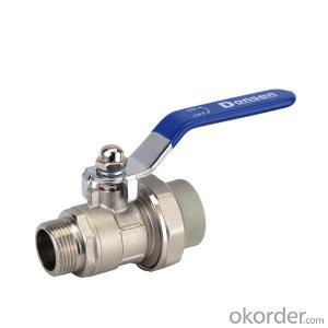 PPR Ball Valve Used in Industrial Field and Agriculture Field from China
