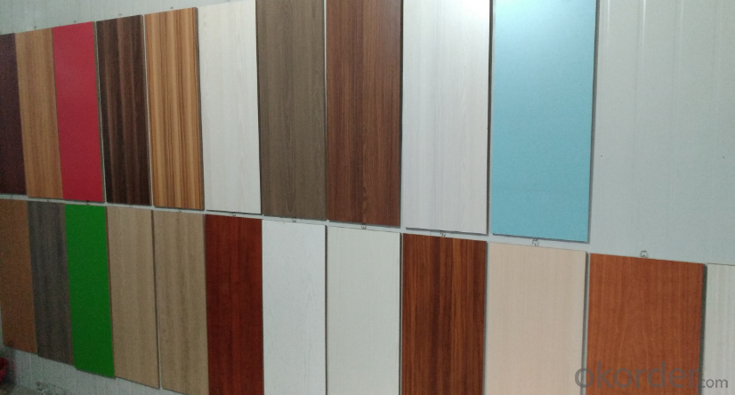 FACED MDF boards with eco-friendly for furniture and carbinet