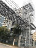 Carbon steel scaffolding ring lock system