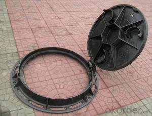 ductile iron manhole cover and drain grating manhole cover