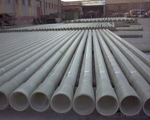 Glass Fiber Reinforced Polymer Pipe Non toxic on sales