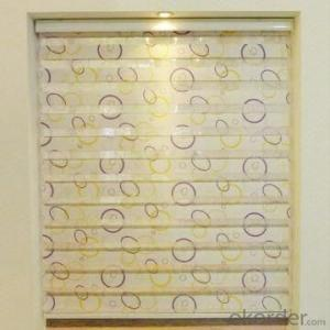 wholesale blackout double layer window zebra blinds
