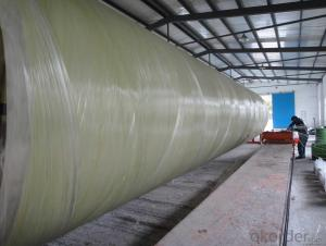 FRP Pipe with Corrosion Resistance High Mechanical Property For Sales