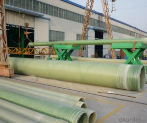 Non Toxic FRP Pipe with Corrosion Resistance High Mechanical Property