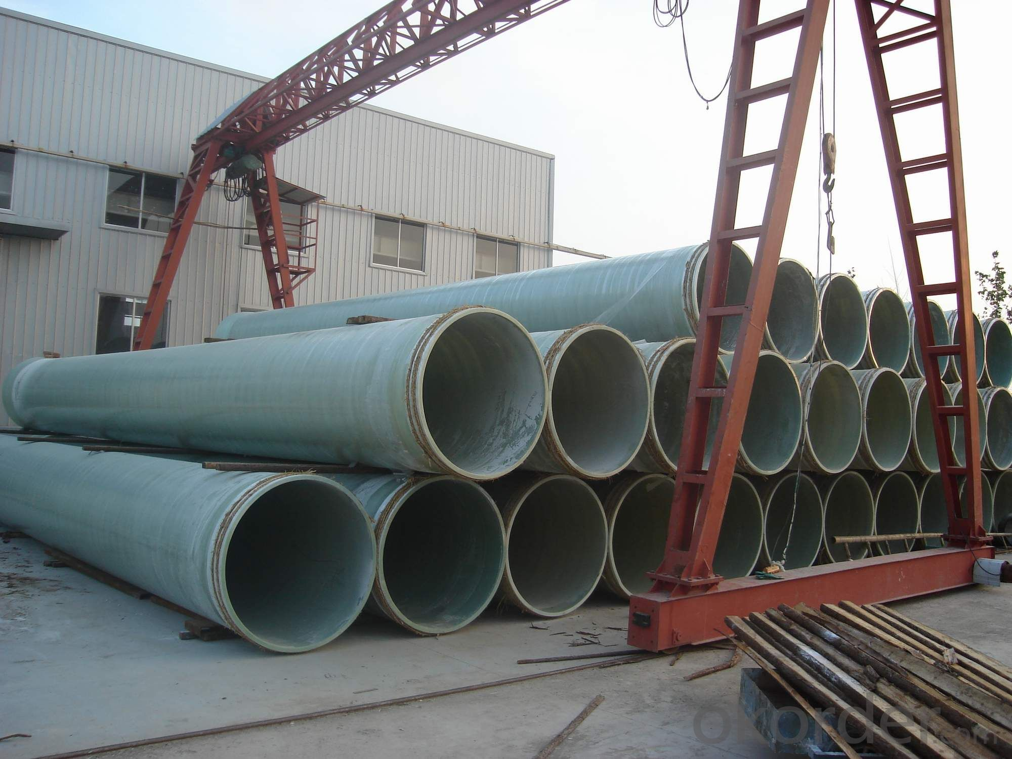 Buy Light Weight Frp Pipe With Low Friction Coefficient