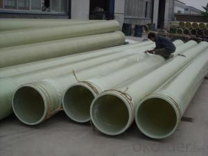 Light Weight FRP Pipe With Corrosion Resistance High Mechanical Property