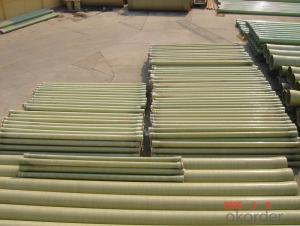Glass Fiber Reinforced Polymer Pipe with Non toxic