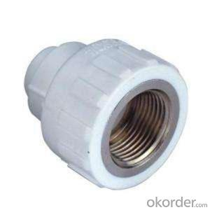 Heat Resisting PPR Pipe Fittings PPR  Female Coupling