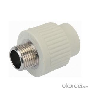 ladycode brass insert PPR threaded coupling