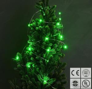 Green Copper Wire String Lights for Outdoor Indoor Garden Holiday Home Wedding Decoration