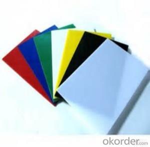PVC Material kitchen cabinets PVC Celuka Foam Board