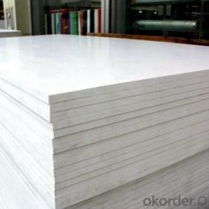 PVC foam board clear co-extruded pvc foam sheet