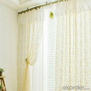Roller Blinds Double Deck with Fine Lace for Girls