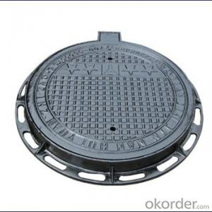 Ductile Iron Manhole Cover with Competitive power