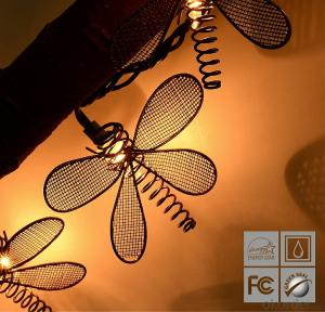 Dragonfly Light String LED Light String for Outdoor Indoor Party Festival Halloween Decoration
