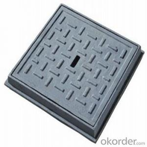 Ductile Iron Manhole Cover with  Square or Round  in China