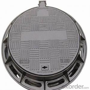 Ductile Iron Manhole Cover EN124 Standard with New Style