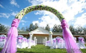 Elegant Wedding site artificial grass/garden