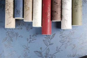 PVC Wallpaper Home Decorative Chinese Design Wallpaper