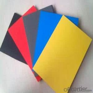Solid PVC foam board thin plastic sheet in China