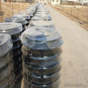 Ductile Cast Iron Manhole Cover EN124 for Mining