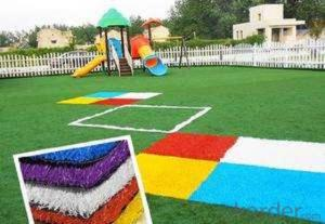 Artificial lawn for kindergarten very soft