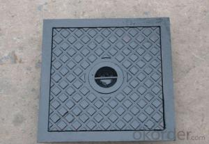 Ductile Iron Manhole Cover for Construction's Systerm