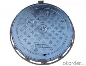 Ductile Iron Manhole Cover of Heavy Duty with EN124 Standard of Square or Round