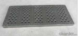 Ductile Iron Manhole Cover D400 for Construction with High Quality
