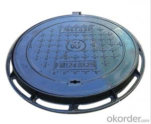 Ductile Iron Manhole Cover with Competitive Price EN124