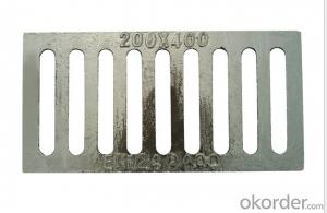 Ductile Iron Manhole Cover and Drain Grating from Casting Foundry