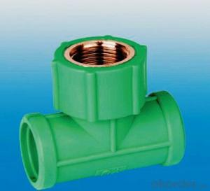 PPR Pipe and Fittings Equal Tee Made in China Factory in 2017